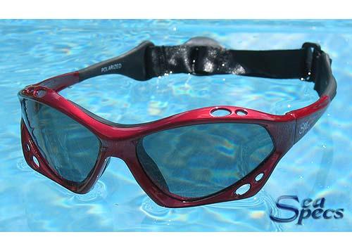 Sea Specs Classic Red Sunfire