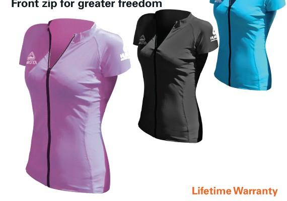 Adrenalin Ladies Rash Vest  – Short Sleeve