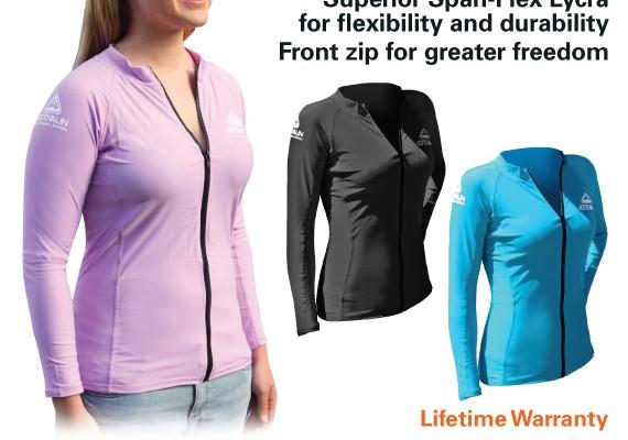 Adrenalin Ladies Rash Vest  – Long Sleeve