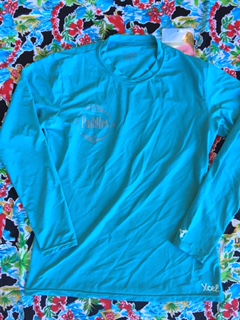 Teal Long Sleeve Front