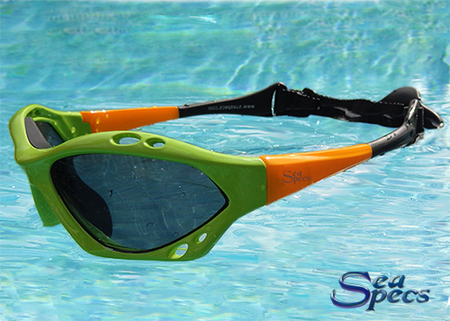 Sea Specs Classic Yellow and Green Retro