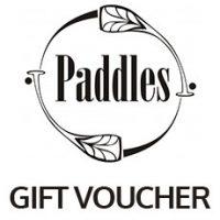 Paddles Gift Voucher