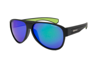 Bomber Floating Sunglasses – Beer Bomb, Green Mirror Lens, Green Foam