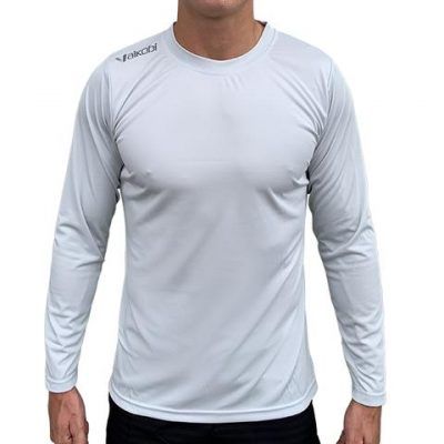 Vaikobi L/S Relaxed Fit UV Top – Light Grey